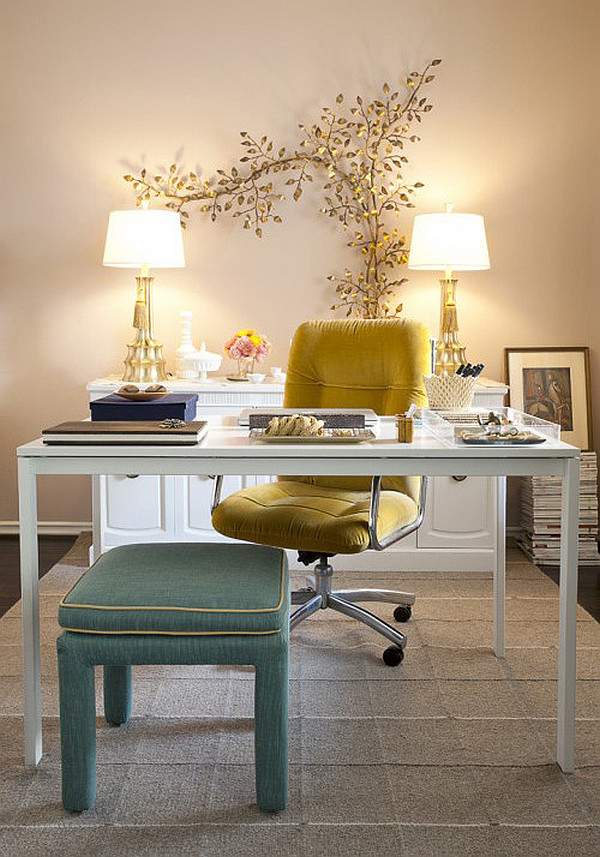 6 ideas to use small space for home office home with design