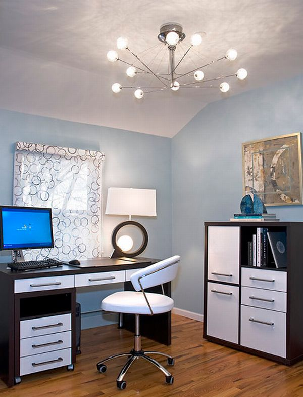 beautiful bright office. 6 ideas to use small space for home office beautiful bright h