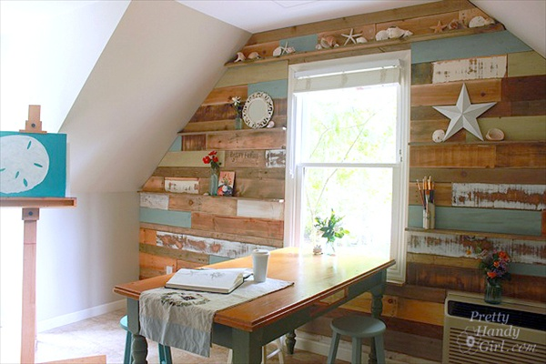 Useful Ideas About Pallet Wood Wall Home With Design