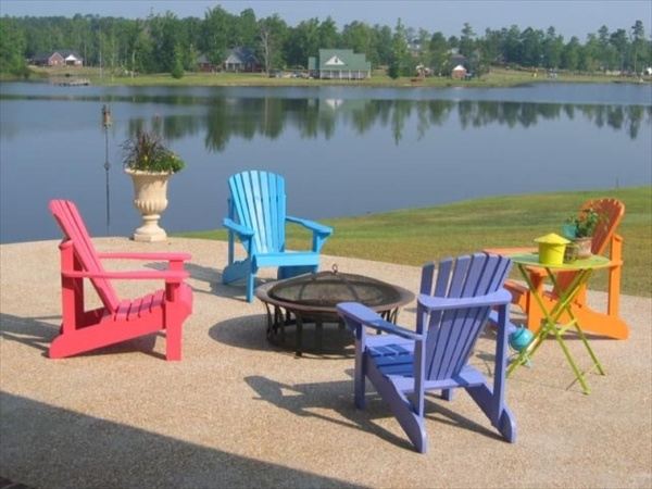 Adirondack Chairs With Thomas Lee Design Ideas Home With Design