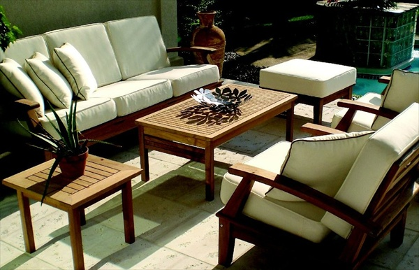 Cushions for outdoor patio furniture