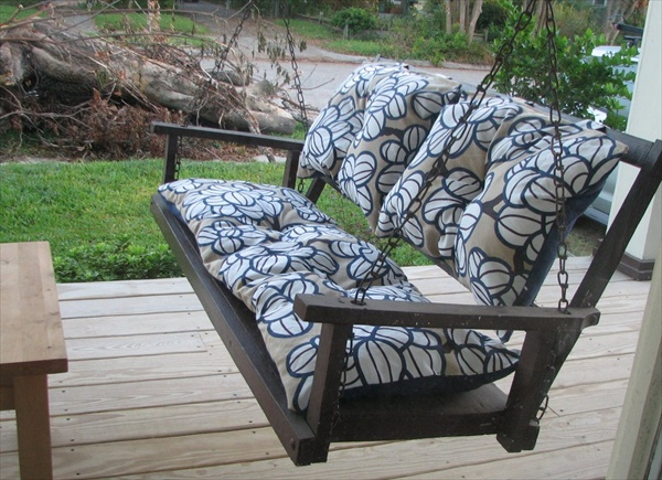 Cushions for porch swings
