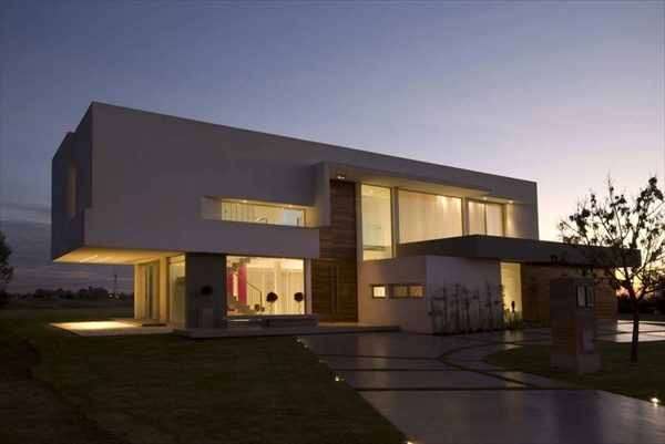 concrete house design speaks grandeur in argentina by vanguarda architects - Concrete Home Designs