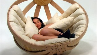 Artistic Sleeping & Seating Solution: Modern Seats