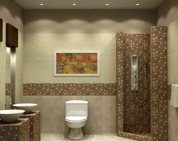 15 modern and small bathroom design ideas home with design for Modern bathroom design small