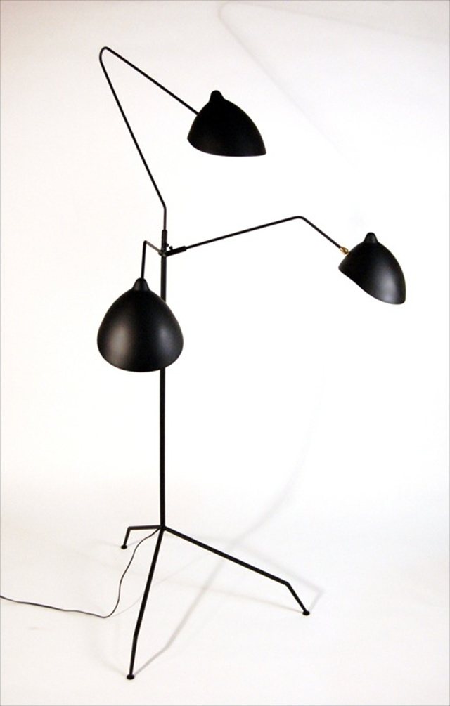 praying mantis floor lamp from white on white. Black Bedroom Furniture Sets. Home Design Ideas
