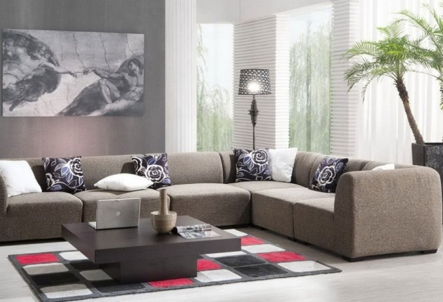 Living room design ideas 17 modern designs home with design for Simple modern living room