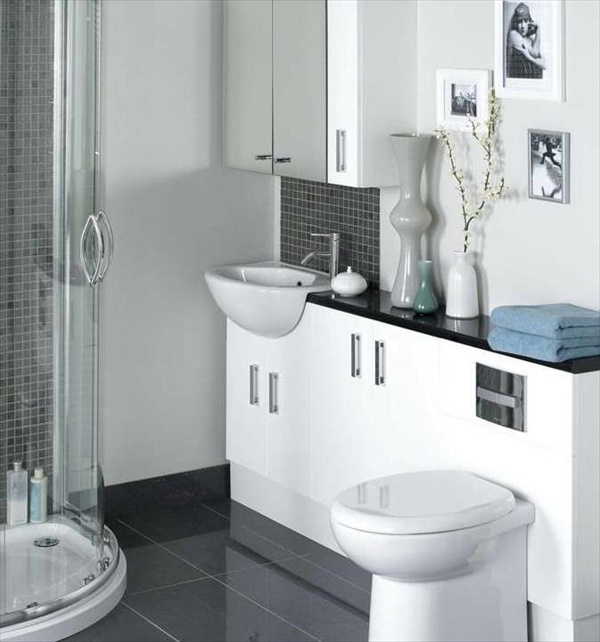 15 modern and small bathroom design ideas home with design for Washroom designs pictures