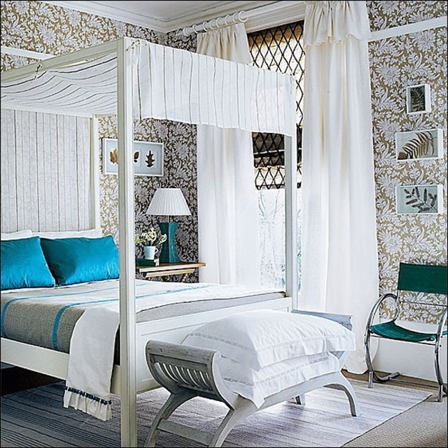 25 inspiring canopy bed designs for your bedroom home - Gray Canopy Decoration