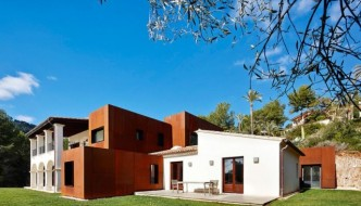 Modern House Architecture: Kubik Extension in Spain