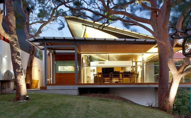 Awesome Modern Home Roof Designs Images Interior Design Ideas