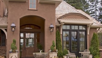 Spring is the Perfect Time to Display Colors to Your Front Entry