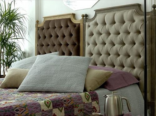 Choose the perfect headboards 34 diy headboard ideas for Cool bed head ideas
