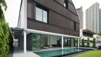 Wind Vault House by Singapore Architects Wallflower
