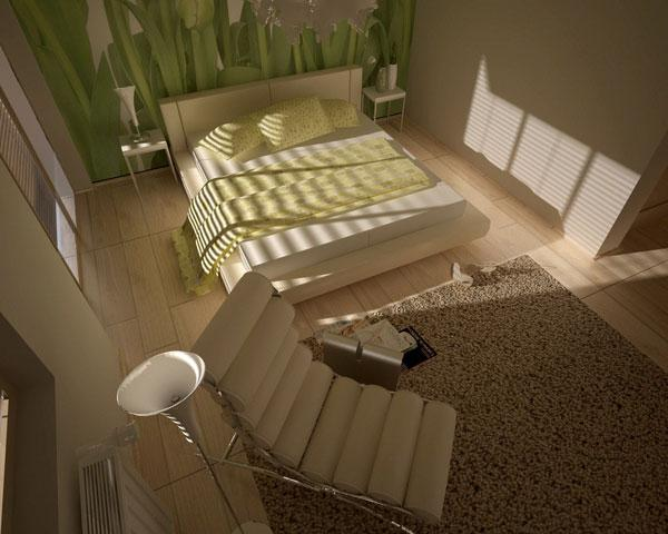 romantic sanctuary bedroom idea