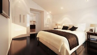 sanctuary bedroom with trendy theme