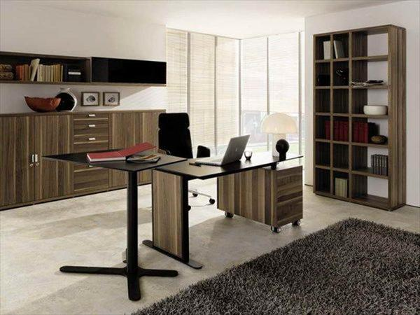 organized home office design