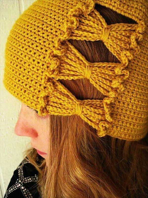 9 DIY Crochet Hat Patterns  e7c26840c17