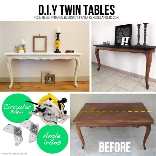 Twin Tables