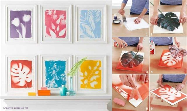 25 diy creative ideas for home decor home with design - Home decoration handmade ideas ...