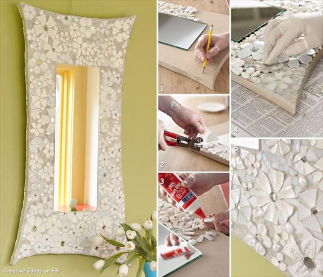 25 diy creative ideas for home decor home with design for Creative home designs