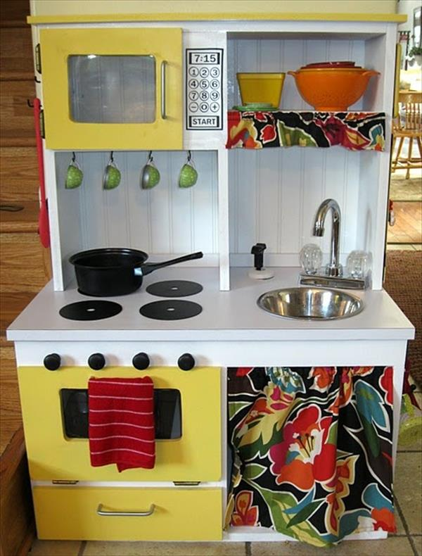10 Diy Play Kitchen Sets