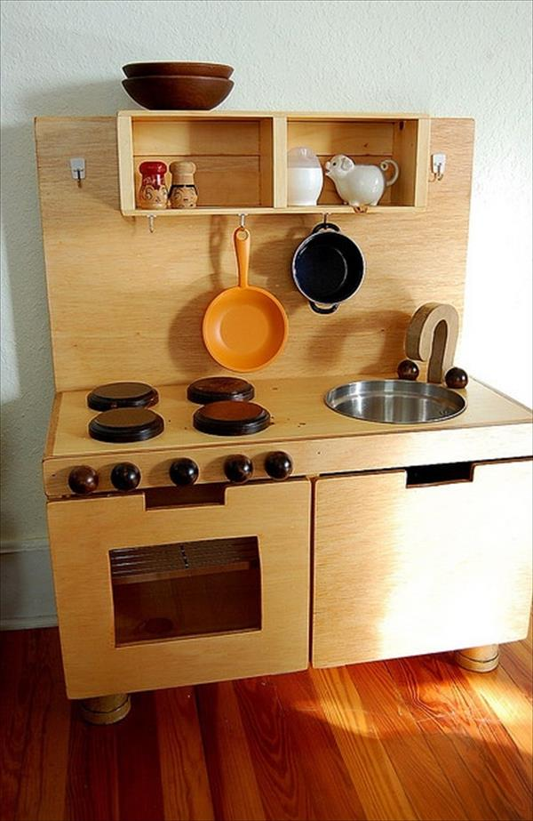 10 diy play kitchen sets home with design for House kitchen set