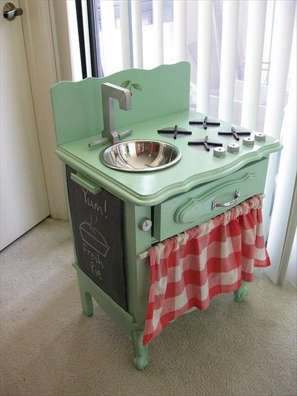 10 DIY Play Kitchen Sets Home With Design