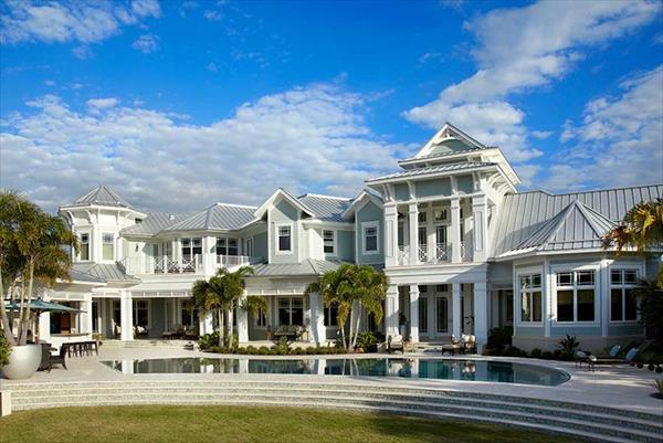 coastal house exterior