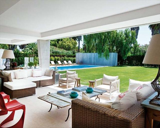spanish summer home design ideas
