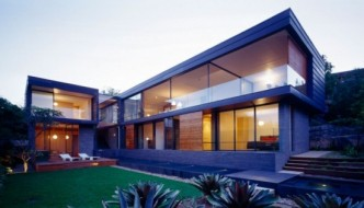 Modern Balmoral House by Fox Johnston Architects