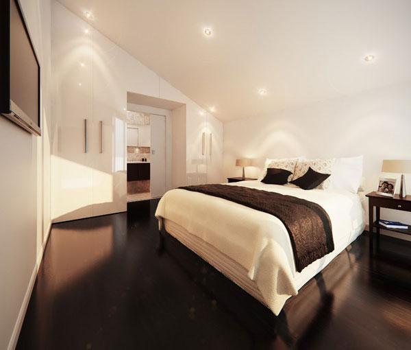 sanctuary bedroom with trendy theme